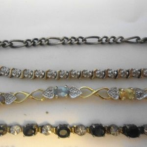 Tennis Bracelet Lot of 5